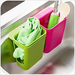 Multifunctional Suctorial Design Plastic Racks & Holders(Random Color x1pcs)