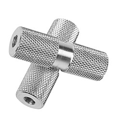 DUUTI 1 Pair BMX Bike Aluminum Alloy Rear Front Axle Silver Solid Foot Pegs