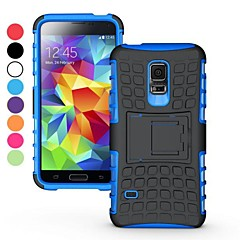 2 in 1 Dual-color Detachable PC+TPU Hybrid Case with Kickstand for Samsung Galaxy S5 mini SM-G800(Assorted Colors)