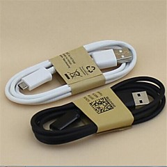 USB 2.0 Mikro USB 2.0 Normal Kabel Til 100 cm PVC