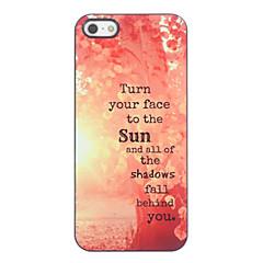 Tree in the Sun Design Aluminium Hard Case for iPhone 4/4S
