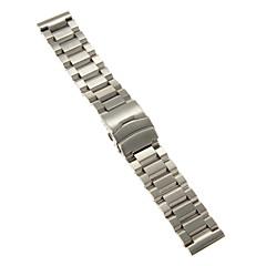 Heren / Dames Horlogebandjes Roestvast staal #(0.1)Watches Repair Kits#(24 x 2.4 x 0.3)