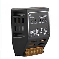 cmp12 20a 12v / 24v levou painel solar controlador regulador de carregador de bateria de energia de energia
