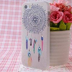 plumes de zircon rêvent modèle receveur sentiment agréable bossage arrière pour iPhone 5 / 5s