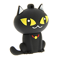 zp55 32gb Cartoon schwarze Katze USB 2.0 Flash Drive