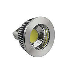 5W GU5.3(MR16) LED Spotlight 1 COB 400-450LM lm Warm White / Cool White / Natural White Dimmable DC 12 V