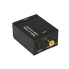 Digital-Audio-Analog-Wandler, konvertieren koaxial oder Toslink Digital-Audio-Signale auf L / R Audio-Analog-Wandler