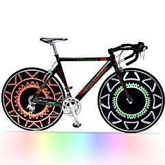 fargerike ledet sykkelhjulet lys CHT-0313b