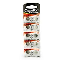 Camelion 1.5V AG8 Alkaline Button Battery (10pcs)