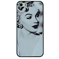 Elegant Marilyn Monroe Pattern PC Hard Back Cover Case for iPhone 5/5S