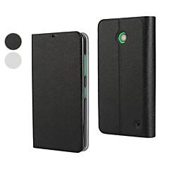 Mert Nokia tok Állvánnyal / Flip Case Teljes védelem Case Egyszínű Kemény Műbőr Nokia Nokia Lumia 630