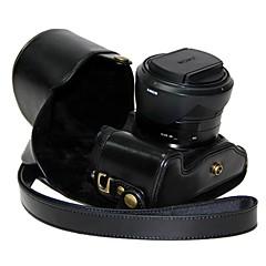 ソニーサイバーショットDSC-RX10 RX10用のショルダーストラップ付きdengpin®革保護カメラケースバッグカバー