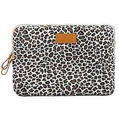 """8 """"manches de couverture toile léopard ordinateur portable de cas shakeproof pour samsung ou iPad mini-"""