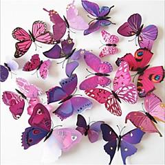 DIY 3D PVC Wall Sticker Butterfly 12 Pieces/Set