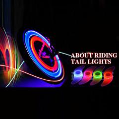 LED Red Bike / BTT / Ciclismo Spoke Luz com Fixação Correia