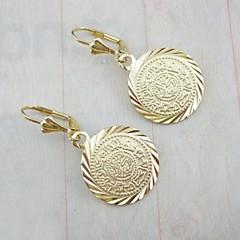 Earring Drop Earrings Jewelry Women Party / Daily / Casual / Sports Zircon / Copper Gold