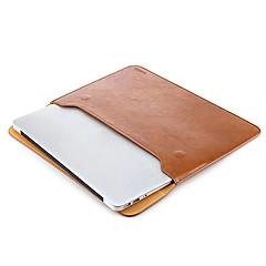 taikesen 애플 맥북 프로 13 인치 가죽 소프트 슬리브 케이스 가방