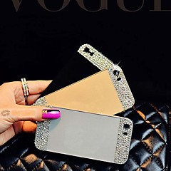 Bright  Decorated with Diamond Hard Back Cover for iPhone 5/5s (Assorted Color)