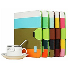 Elegant Bright Color PU Full Body Case Stand Case for iPad 2/3/4 (Assorted Colors)