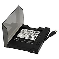 삼성 갤럭시 S3 I9300를위한 고용량 3.8V의 2500MAH 충전식 배터리와 배터리 충전기 세트