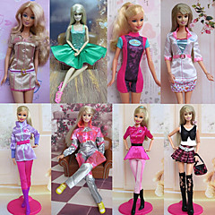 Princess Costumes For Barbie Doll Pink Dresses