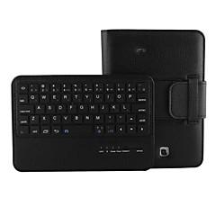 abnehmbare Bluetooth-Tastatur Flip stehen lichee-Grain-Leder Etui für Samsung Galaxy Tab 7.0 4 T230 (verschiedene Farben)