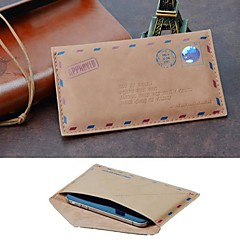 Personalized Fashion Envelope PU Leather Case for iPhone 6/5/5S