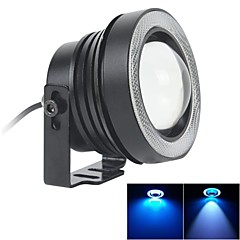 67mm 10W LED 7000K koel wit mistlamp en ice blue angel eye ringen DRL diy lamp voor auto (DC 12V-24V)