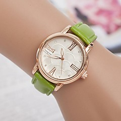Women's Fashion Diamond Roma Calibration Quartz Wrist Watch(Assorted Colors)