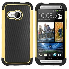 For HTC etui Stødsikker Etui Bagcover Etui Armeret Hårdt PC for HTC HTC One M8 HTC One M7