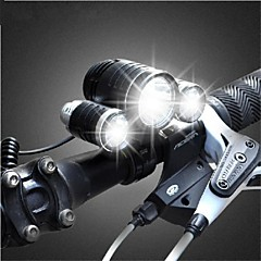 Bike Light , Front Bike Light / Headlamps / Bike Lights - 3 Mode 3000lumens Lumens Rechargeable 18650 x It needs 2* 18650 batteries.