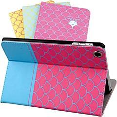 dsd® ylellisyyttä iltapala slip auto uni / herätä mittakaavassa suunnittelu pu nahka koko kehon kotelo iPad 2/3/4 (eri värejä)