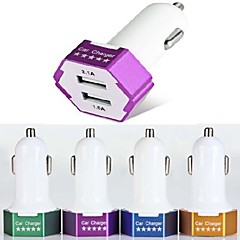 es-04 billader med 2-ports USB-hub for iPhone 6 iPhone 6 plus og andre mobiltelefoner (5v 1a / 2.1A)