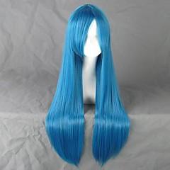 Durarara!! Ami Kawashima Blue Long Cosplay Wig