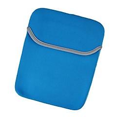 """아이 패드 미니 3, 아이 패드 미니 2, 아이 패드 미니 7 """"푸른 회색에 대한 보호 네오프렌 내부 가방 파우치"""