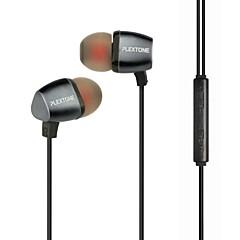 plextone® in-ear ακουστικά μέταλλο βαρύ μπάσο με μικρόφωνο και compatibe για iPhone / iPad / PC