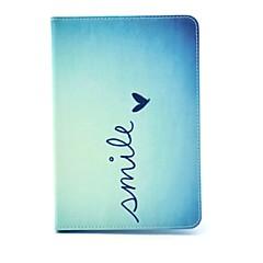 le från hjärtmönster pu läder hela kroppen fallet med stativ för iPad mini 3, iPad Mini 2, iPad Mini