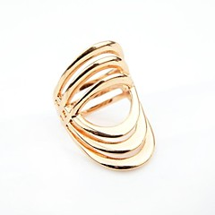 Alloy Latest Degisn Gold Plated Punk Style Wholesale Fashion Ring