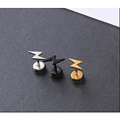 Oorknopjes Initial Jewelry Titanium Staal Sieraden Voor Bruiloft Feest Dagelijks Causaal