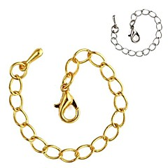 Golden / Silver Chain Necklaces Alloy Daily / Casual Jewelry