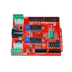 itead dos canales de accionamiento del motor paso a paso la tarjeta de expansión escudo para Arduino - rojo
