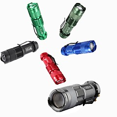 LT-950981 3Mode  CREE XPE Q5  Mini LED Flashlight (300LM.1X14500.Multicolor)