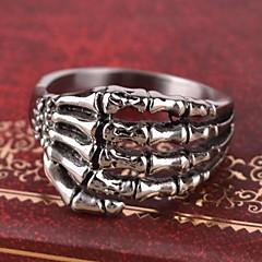 мужская Европа личности когти титана стальное кольцо