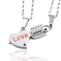 Love Forever Couple Necklace