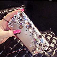 The New Shining Color  with Diamond Hard Back Cover for iPhone 4 /4S (Assorted Colors)