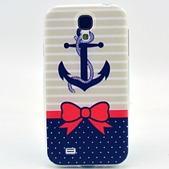 Bow Rivet Pattern TPU Soft Case for S4 I9500