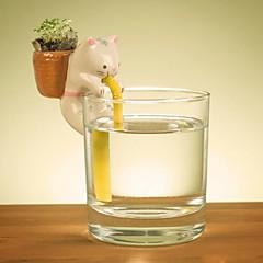 neje auto irrigazione animali fioriere vegetali - cat (fragoline di bosco)