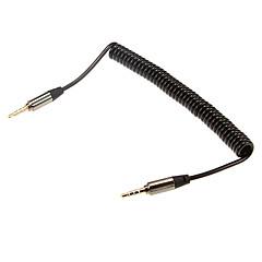 1m 3.28ft lyd 3,5 mm hann til lyd 3.5mm mannlig extense kabel for mobiltelefon og bil aux