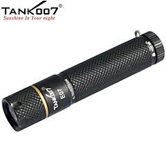 tank007® E07 1-tilassa 1x Cree xp-g r3 johtama mini kynä-muotoinen taskulamppu (160lm, 1xAA, musta)
