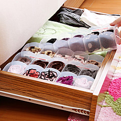 Japanese 5-Compartment Multi Functional Storage Box Of Stacking Underwear Socks And Accessories K1684